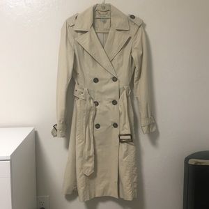 ZARA Beige Trench Coat, Small